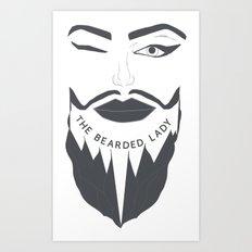 Grey Logo Art Print