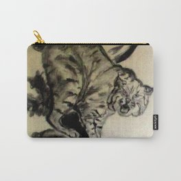 Bob Cat In A Tree Carry-All Pouch
