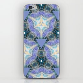 Lilac Triangles iPhone Skin