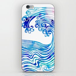 Waveland iPhone Skin