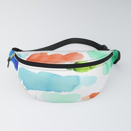Watercolor Swatch Pattern Fanny Pack
