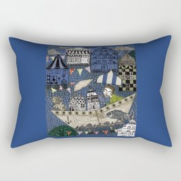 September Day Rectangular Pillow