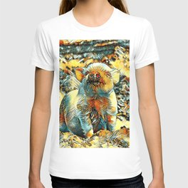 AnimalArt_Piglet_20170601_by_JAMColorsSpecial T-shirt