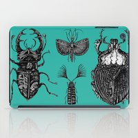 insects iPad Cases featuring Insects by Ejaculesc