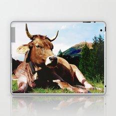 Lunch break in the Alps Laptop & iPad Skin