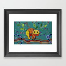 DNSW Series: Patrick the Wombat Framed Art Print