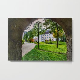 Schloss Grosslaupheim - Baden-Württemberg Metal Print