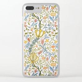 William Morris Flora Clear iPhone Case