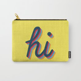 Hi - yellow version Carry-All Pouch