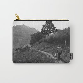 Coal Loader on His Way Home After Work Carry-All Pouch