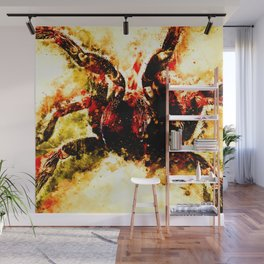 tarantula fangs wsb Wall Mural