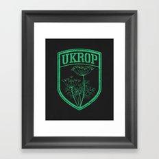 Ukrop Framed Art Print