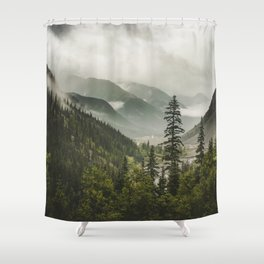 Valley of Forever Shower Curtain