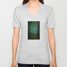 Calming blue winds Unisex V-Neck