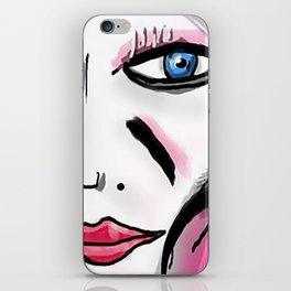 French Girl iPhone Skin