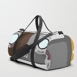 The cassette tape Robot Duffle Bag