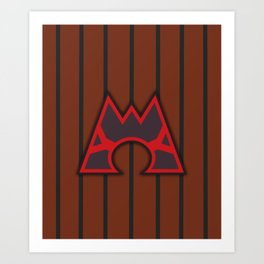 Team Magma Art Print