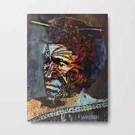 Maori Warrior 2 Metal Print