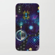 Cosmic Trip Slim Case iPhone X
