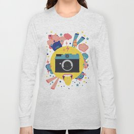 having too much fun to take pictures Long Sleeve T-shirt