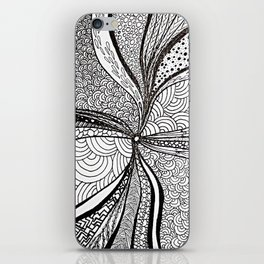 Black hole iPhone Skin