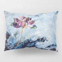 Kintsugi Lotus Pillow Sham
