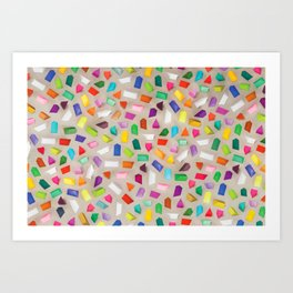 PRISMS Art Print
