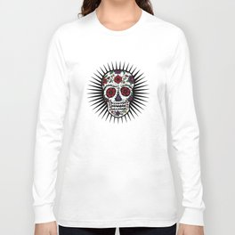 Sugar Skull Star Long Sleeve T-shirt