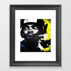 Muhammad Ali By CD Kirven Framed Art Print