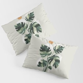 Cat and Plant 11 Pillow Sham