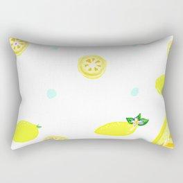 LOL: Lots of Lemons Rectangular Pillow