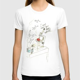 I don't know how love works T-shirt