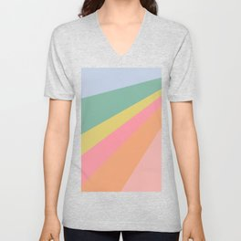 Sweet Rainbow Road Unisex V-Neck