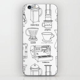 Coffee Brewing iPhone Skin