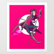 The Thief Art Print