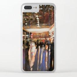 London Waterloo Dusk Clear iPhone Case