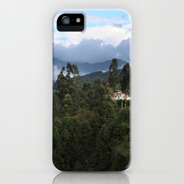 A house in the mountains  iPhone Case