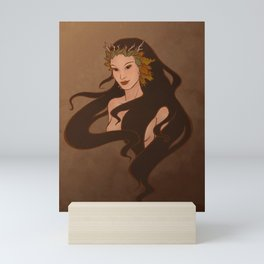 Autumn Faerie Mini Art Print