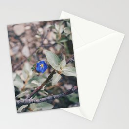 Wildflower blue Stationery Cards