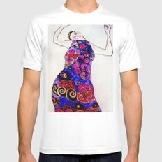 The Embrace Reimagined By James Thomas Ryan 2X-LARGE White Mens Fitted Tee
