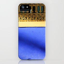 Moroccan Gardens iPhone Case