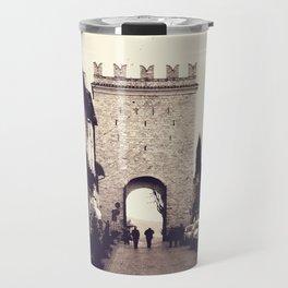 Medieval Gate of Assisi Travel Mug
