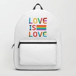 Love Is Love Backpack