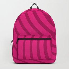 Circles (Fuchsia/DarkMagenta) Backpack