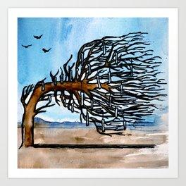 'Opposites' Tree Art Print