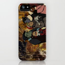 Les Normaux Christmas iPhone Case