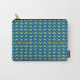 Sea for fun (blue) Carry-All Pouch