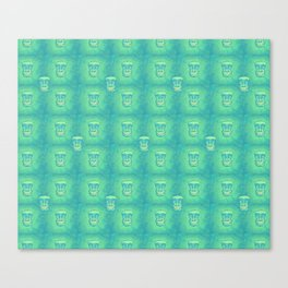 Smiley Tiki Canvas Print