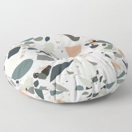 Terrazzo and Marble Floor Pillow