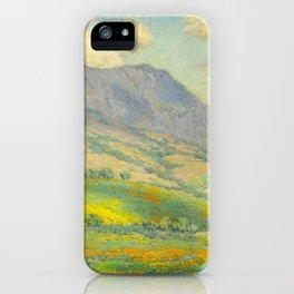 Granville Redmond Hazy Day in Antelope Valley, 1932 Oil Painting Vintage American Art iPhone Case